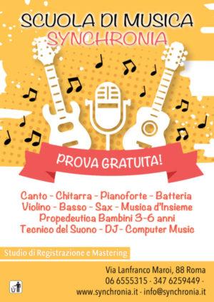 corsi di musica a roma