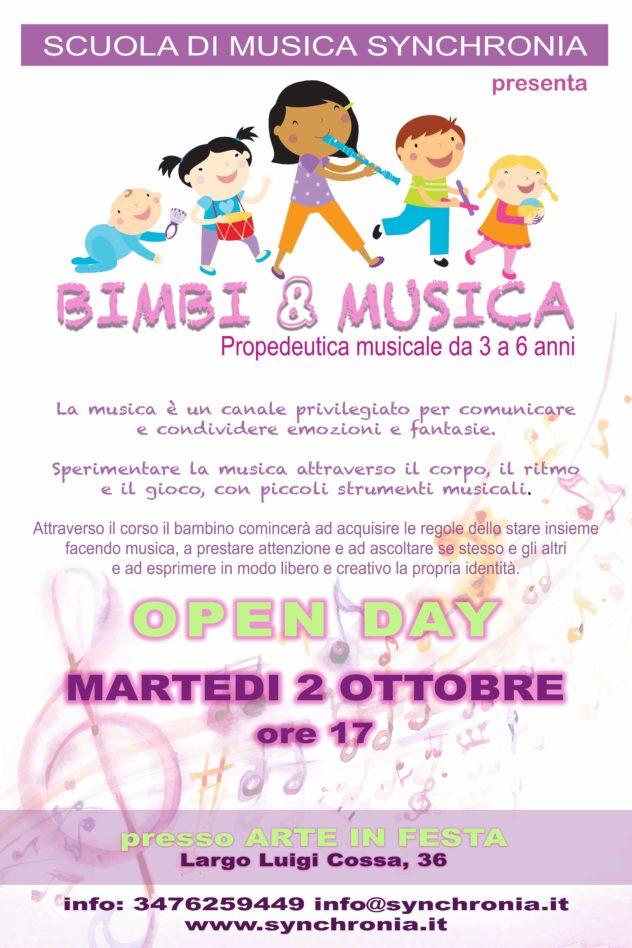 propedeutica musicale per bambini Roma